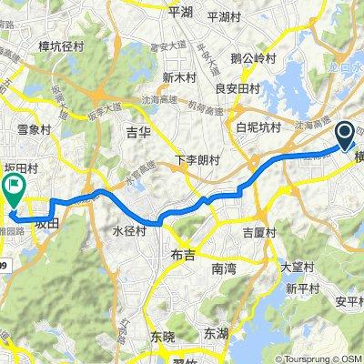 前往布龙路, 深圳市