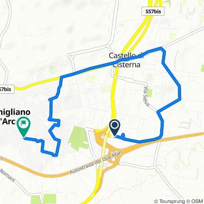 Da Via Passariello 104, Pomigliano d'Arco a Via Abate Felice Toscano 86–110, Pomigliano d'Arco