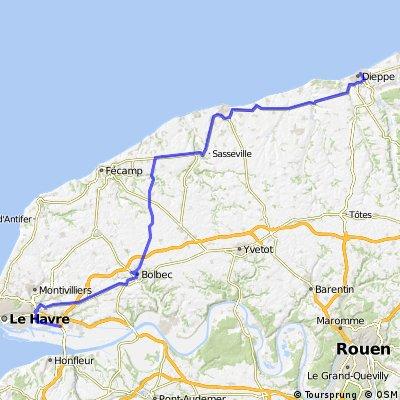 Le Havre - Dieppe