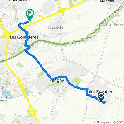 De 7 Rue Auguste Renoir, Saint-Rogatien à 62bis Rue du 18 Juin, Puilboreau