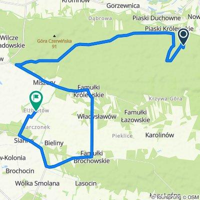 Slow ride in Brochów