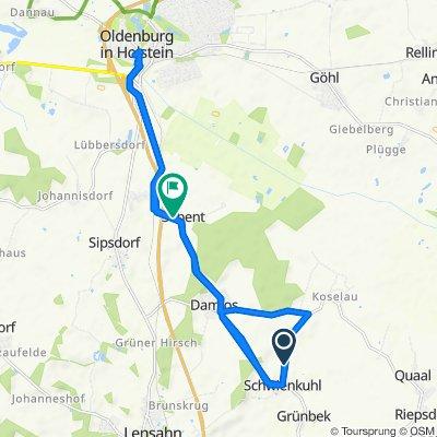 Schnelle Tour in Kabelhorst