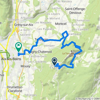 Blistering ride in Aix-les-Bains