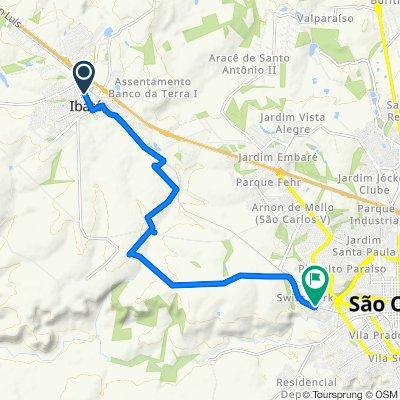 Easy ride in São Carlos