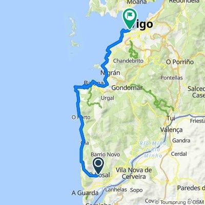 5 59 Km A Guarda a Vigo