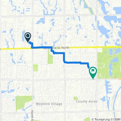 Moderate route in Wichita