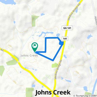 Slow ride in Johns Creek