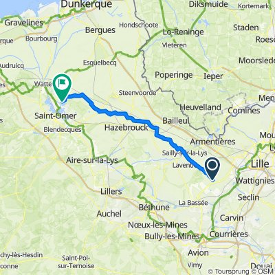 Easy ride in Fournes-en-Weppes