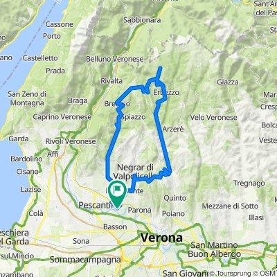 Molina / Fosse / verso il passo/ Grezzana/Montecchio