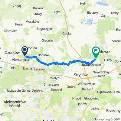 Zielna 6, Sokolniki-Las do Wyskoki 27A, Wyskoki