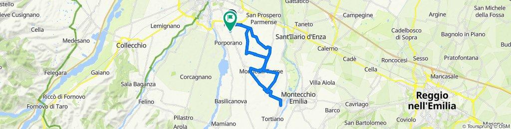 Da Strada Comunale Lazzaretto 19, Parma a Strada Salvini 48, Parma