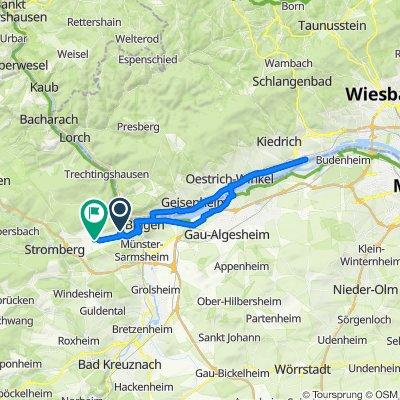 Am Heerberg 35, Weiler bei Bingen nach Am Heiligenhäuschen 6, Waldalgesheim