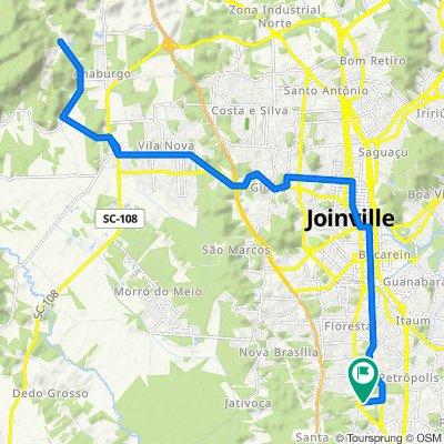 Pedal Estrada Motucas Joinville