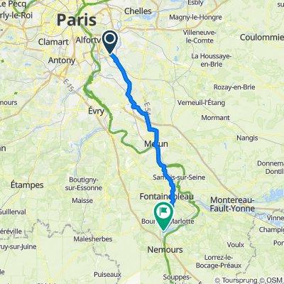 De 12 Rue Bouglione, Bonneuil-sur-Marne à 63 Rue Wilson, Grez-sur-Loing