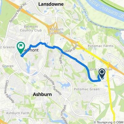 Steady ride in Ashburn