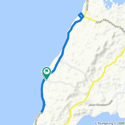 Moderate route in Pulau Labuan