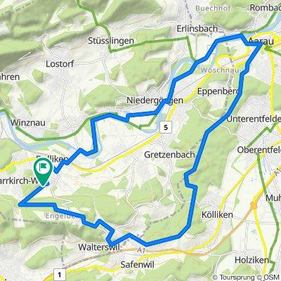 Dulliken - Aarau - Dulliken