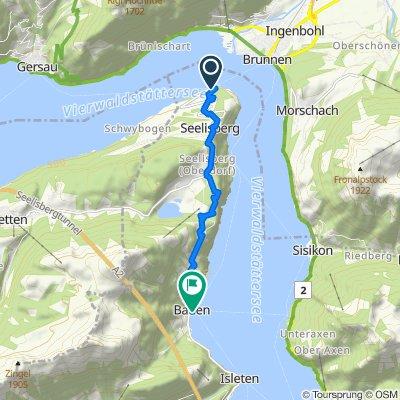 Schiffsreise und kurze Sommerwanderung Treib-Seelisberg-Bauen
