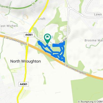 Restful route in Swindon