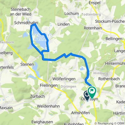 Moderate Route in Rothenbach