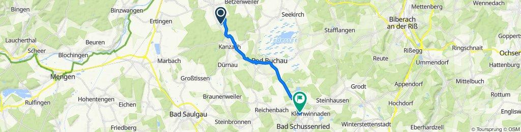 Von Dürmentingen nach Roppertsweiler