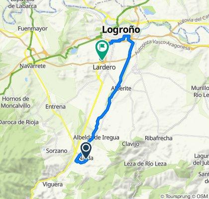 Restful route in Nalda