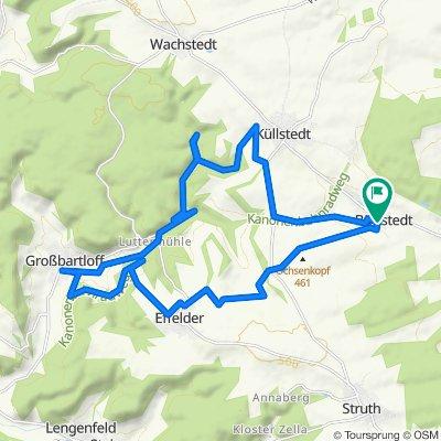 Brunnenweg 2, Büttstedt nach Wiesenweg 11, Büttstedt