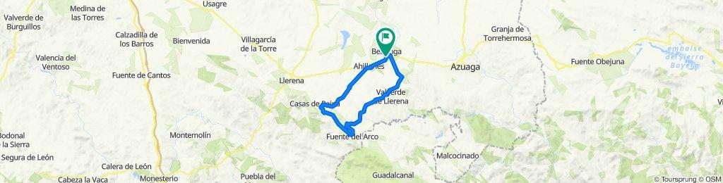 Steady ride in Berlanga