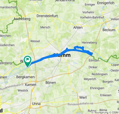Entlang des Datteln-Hamm-Kanals