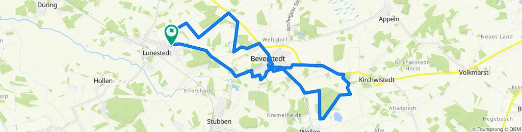 Moderate route in Beverstedt