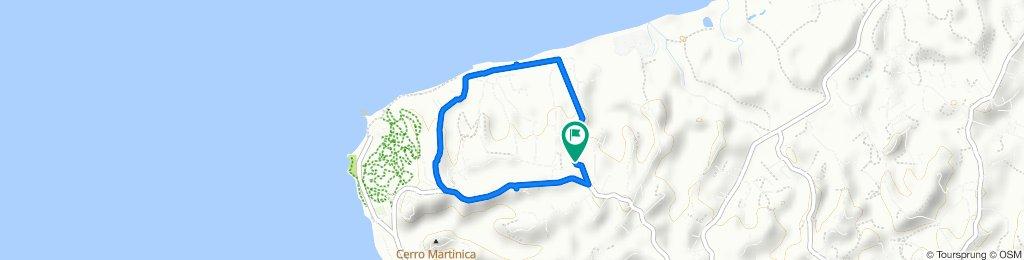 Steady ride in Rincón