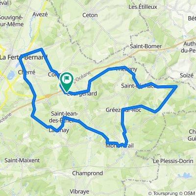 De La Piferdière, Courgenard à La Piferdière, Courgenard