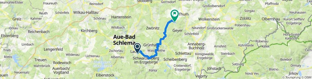 Restful route in Geyer