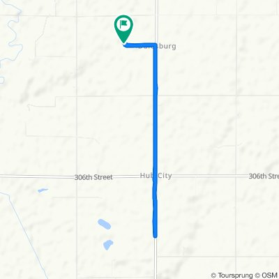 Supersonic route in Centerville