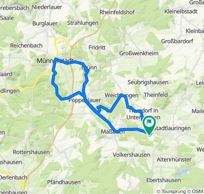 Klingenweg 3, Thundorf in Unterfranken nach Klingenweg 3, Thundorf in Unterfranken