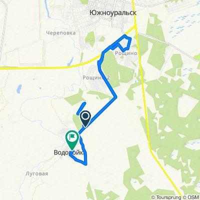 От Unnamed Road до Юбилейная, Водопойка
