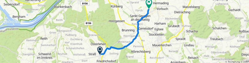 Untere Hofmark 18, Neukirchen an der Enknach nach Weikerding, Burgkirchen
