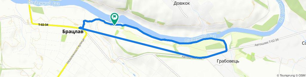 Вечерний маршрут.