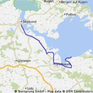10.08.03 Gahlkow Siedlung-Stralsund (21. Etappe)