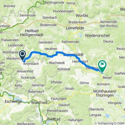 Dorfstraße 3, Dieterode nach Zum Hegeholz 4, Unstruttal