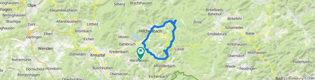 Herzhausen, Lützel, Ferndorfquelle, Hilchenbach, Herzhausen