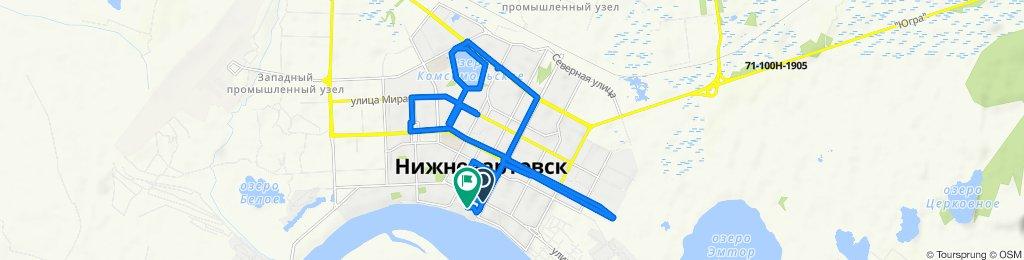 Steady ride in Нижневартовск