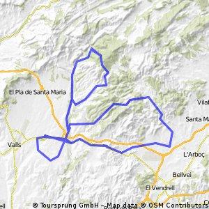 3ª Etapa - Challenge Comarcas de Tarragona Máster 2010