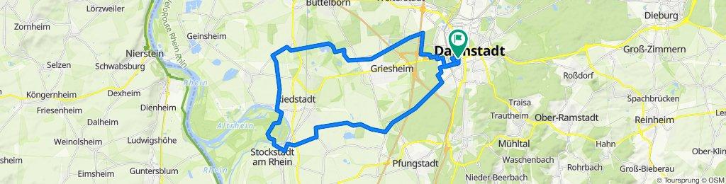 40 km Challenge aus Darmstadt_neu