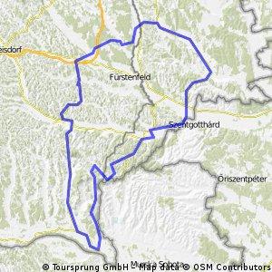 Ausfahrt Hügelland & Süd-Burgenland
