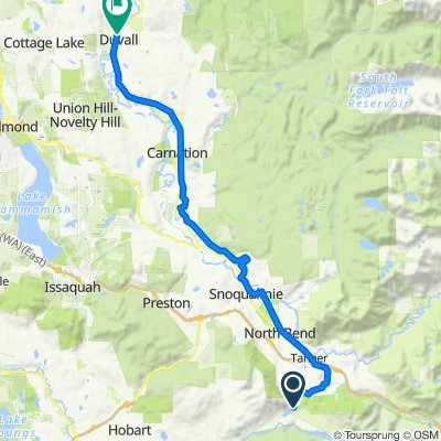 North Bend to Duvall (Snoqualmie Valley Trail)