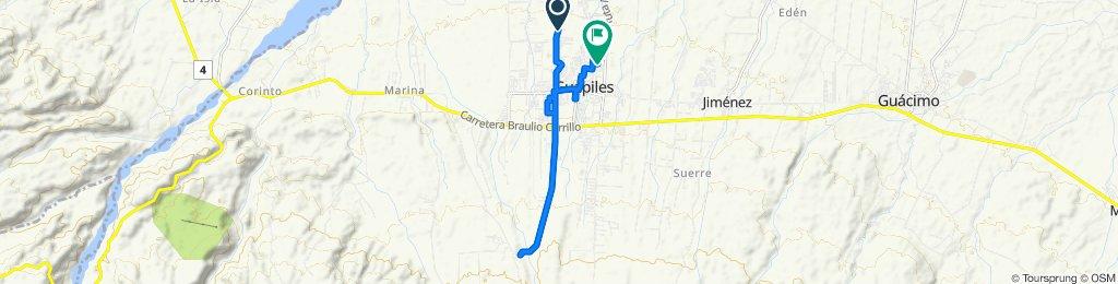 Paseo lento en Pococí
