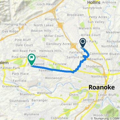 Moderate route in Salem