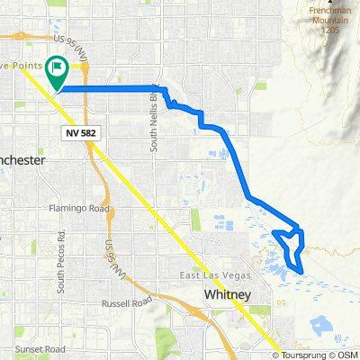 East Saint Louis Avenue 38, Las Vegas to East Saint Louis Avenue 38, Las Vegas
