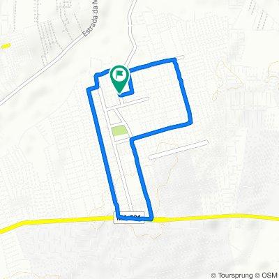 Moderate route in Paço do Lumiar